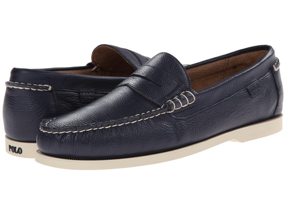 Polo Ralph Lauren Bjorn (Newport Navy Soft Tumbled Leather) Men