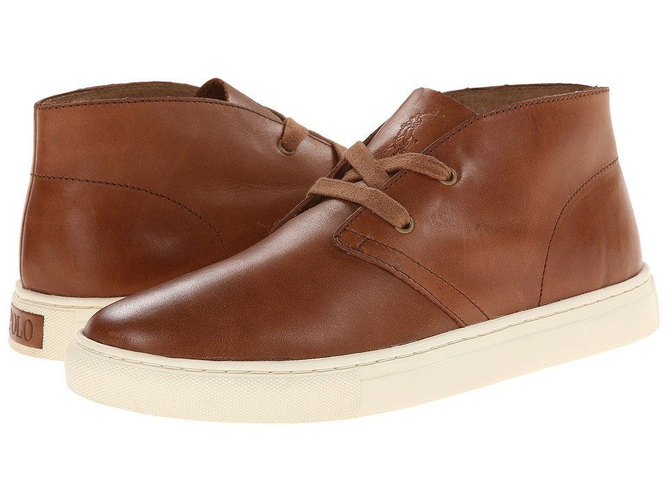 Polo Ralph Lauren - Joplin (Polo Tan Burnished Leather) Men's Shoes