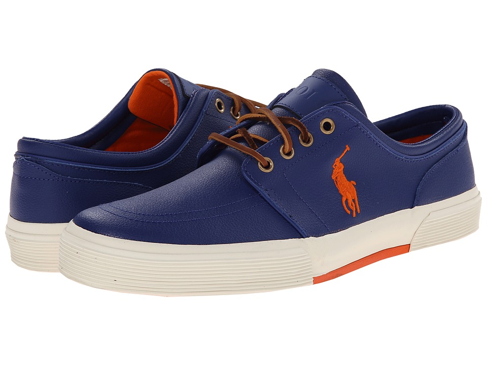 Polo Ralph Lauren - Faxon Low (Heritage Red Sport Leather) Men's Lace up casual Shoes