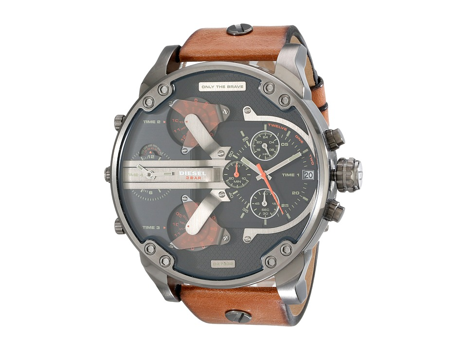 Diesel - Mr. Daddy 2.0 (Brown) Watches