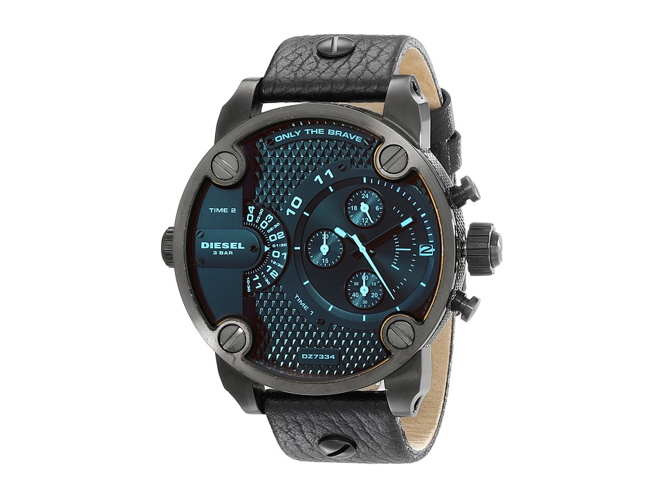 Diesel - Little Daddy (Black) Chronograph Watches