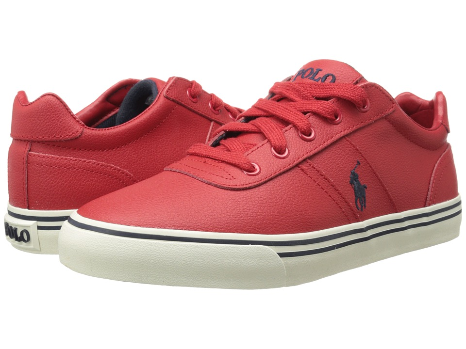 Polo Ralph Lauren - Hanford (Rl2000 Red Sport Leather) Men's Lace up casual Shoes