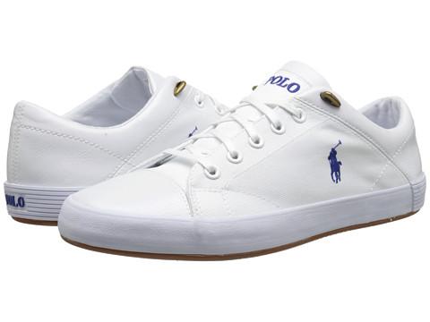 Polo Ralph Lauren - Jerom (Pure White Cordura) Men's Shoes