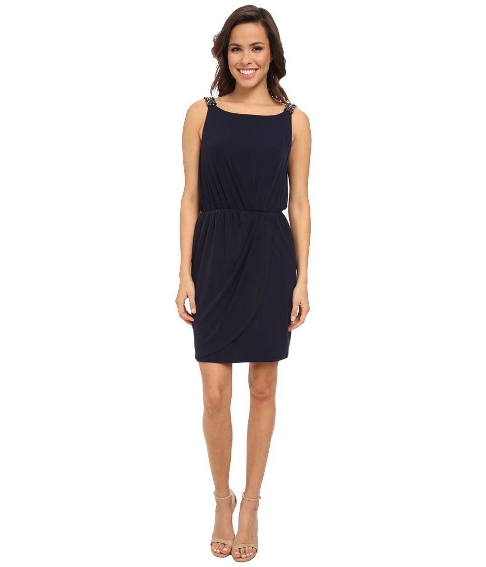 Jessica Simpson Ity Beaded Strap and Low Back (Blue) Women