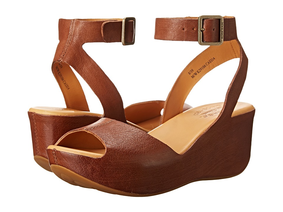 Kork-Ease - Carolyne (Golden Sand) Women's Wedge Shoes