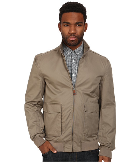 Ben Sherman - Cotton Windcheater (Walnut) Men