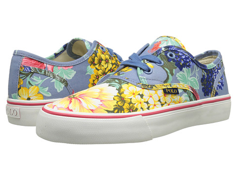 Polo Ralph Lauren - Morray (Chambray Hawaiian Floral) Men's Shoes