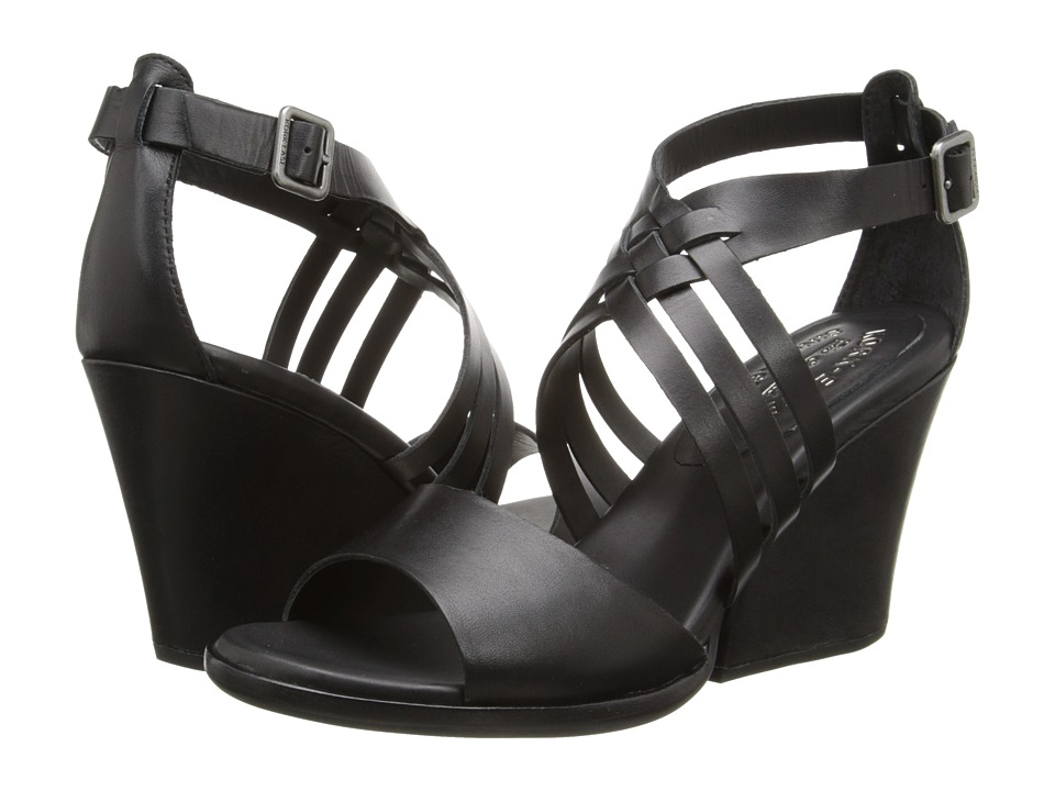 Kork-Ease - Adelaide (Black) Women's Wedge Shoes