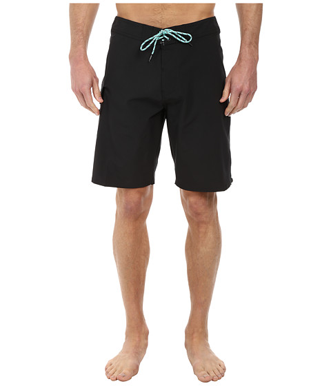 VISSLA - Concav Boardshort (Black) Men's Swimwear
