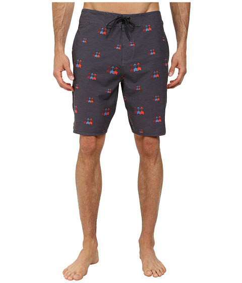 VISSLA - Hess Boardshorts (Phantom) Men's Swimwear