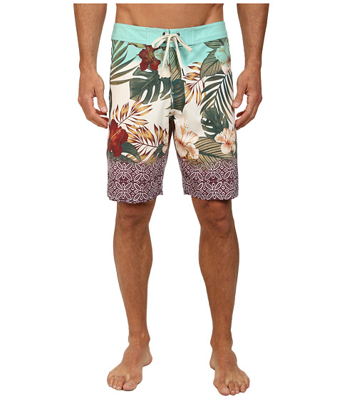 VISSLA - Moku Boardshort (Jade) Men's Swimwear