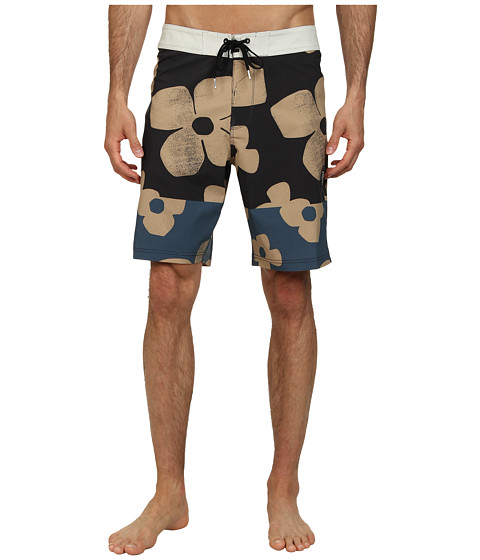 VISSLA - Keoni Boardshort (Phantom) Men's Swimwear