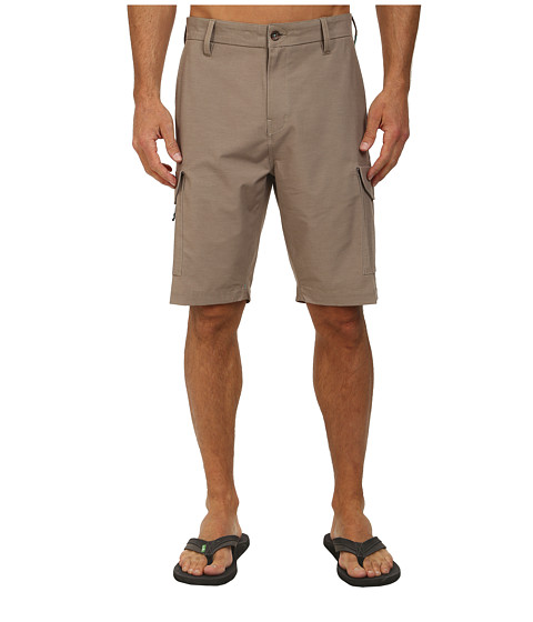 VISSLA - High Tide Cargo (Khaki) Men's Shorts