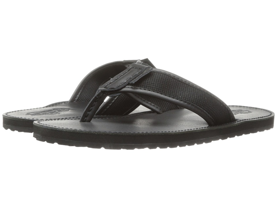 Polo Ralph Lauren - Sullivan (Polo Black/Black Leather/Webbing) Men