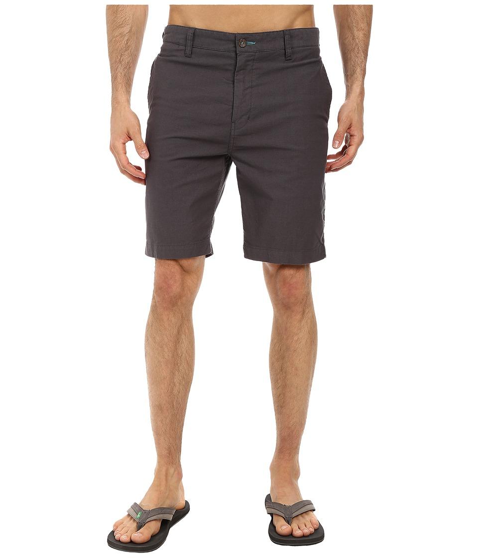 VISSLA - Rights Walkshort (Black) Men's Shorts