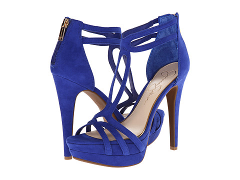 Jessica Simpson - Salvati 2 (Symphony Blue Microsuede) Women's Shoes