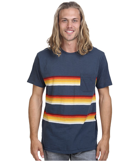 VISSLA - Glass On Crew (Dark Slate) Men
