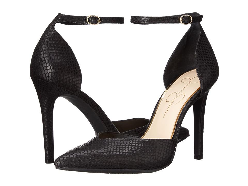 Jessica Simpson - Cirrus (Black Ditzy Snake) High Heels