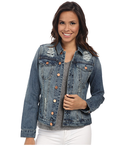 Blank NYC - Jean Jacket in Kind of a Big Deal (Blue) Women's Coat