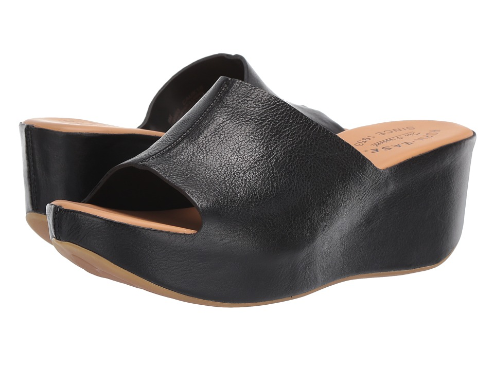 Kork-Ease - Greer (Black F/G) Women's Wedge Shoes