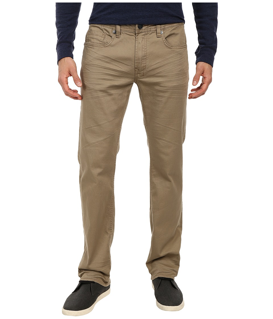 Buffalo David Bitton - Torpedo Stretch Twill in Tan (Tan) Men