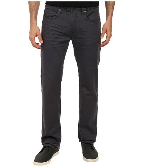 Buffalo David Bitton - Six Slim Straight Leg Jean New Super Black Stretch Fabric in Lightly Sanded Rifted (Lightly Sanded & Rifted) Men