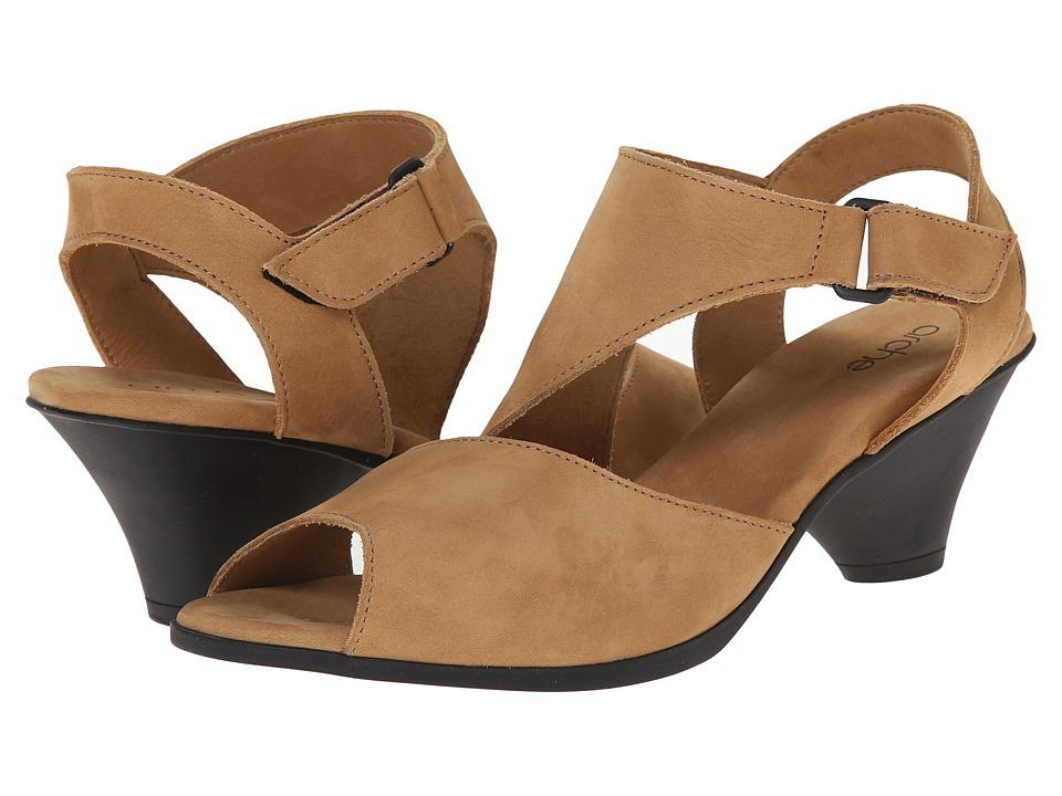Arche - Exus (Fauve) Women's Dress Sandals