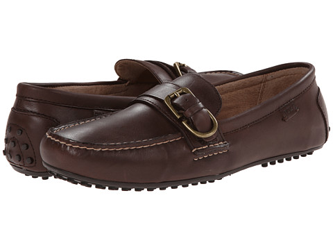Polo Ralph Lauren - Whiteley (Dark Brown Burnished Leather) Men's Shoes
