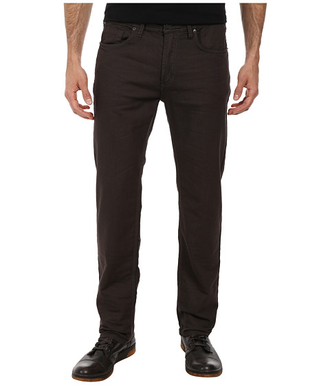 Buffalo David Bitton - Fred Knitted Denim in Charcoal (Charcoal) Men
