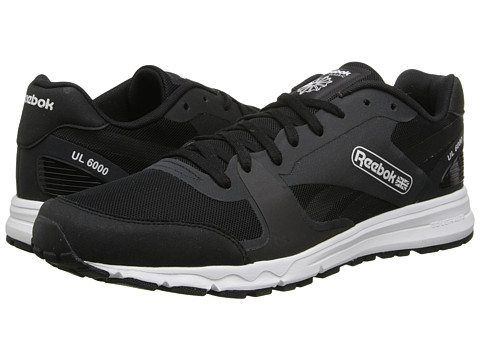 Reebok - UL 6000 (Black/White) Men's Shoes