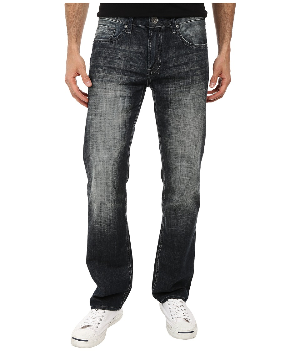 Buffalo David Bitton - Six Jean Lucas Blue in Classic Contrasted (Classic & Contrasted) Men