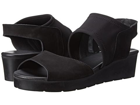 Arche - Malona (Noir) Women's Wedge Shoes