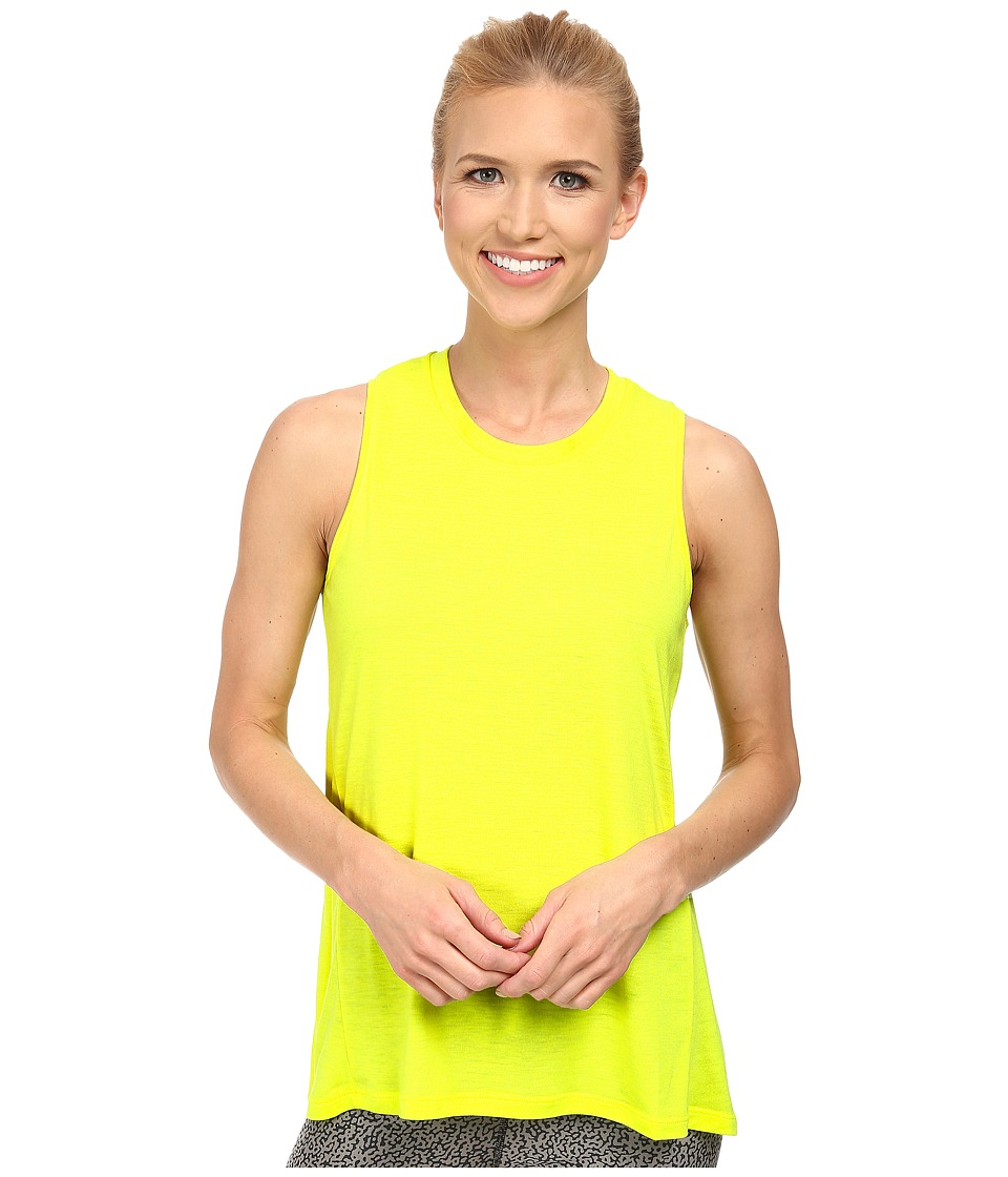 Jofit - Time Zone Tunic (Citron) Women's Sleeveless