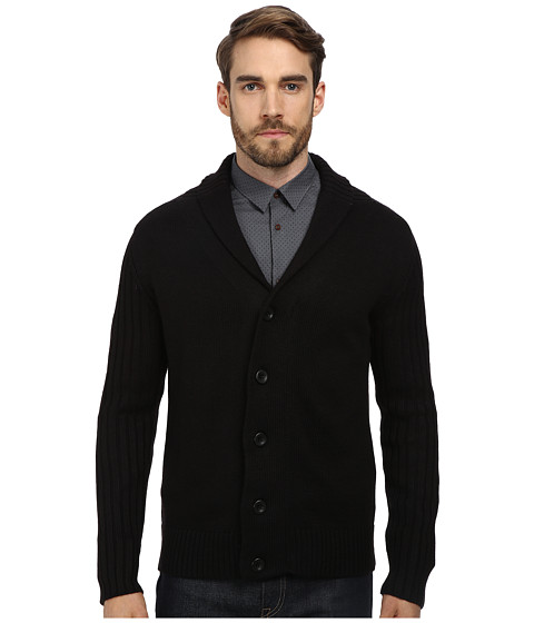 7 Diamonds - Monaco Cardigan (Black) Men
