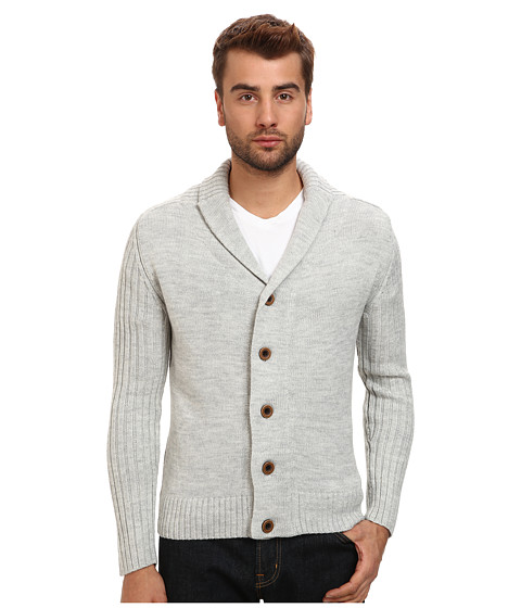 7 Diamonds - Monaco Cardigan (Oatmeal) Men's Sweatshirt
