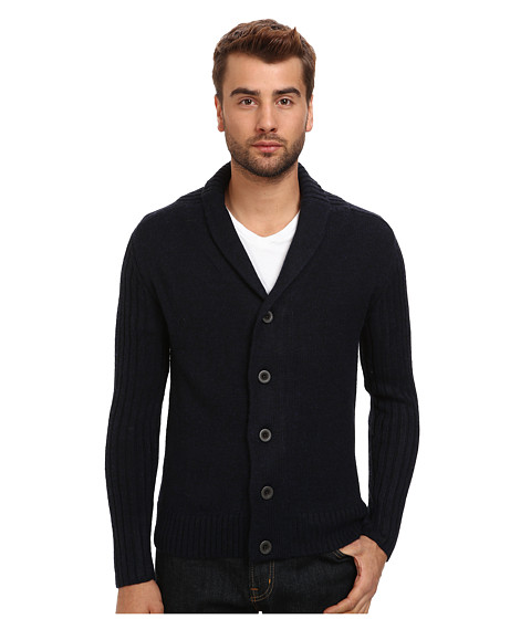 7 Diamonds - Monaco Cardigan (Navy) Men
