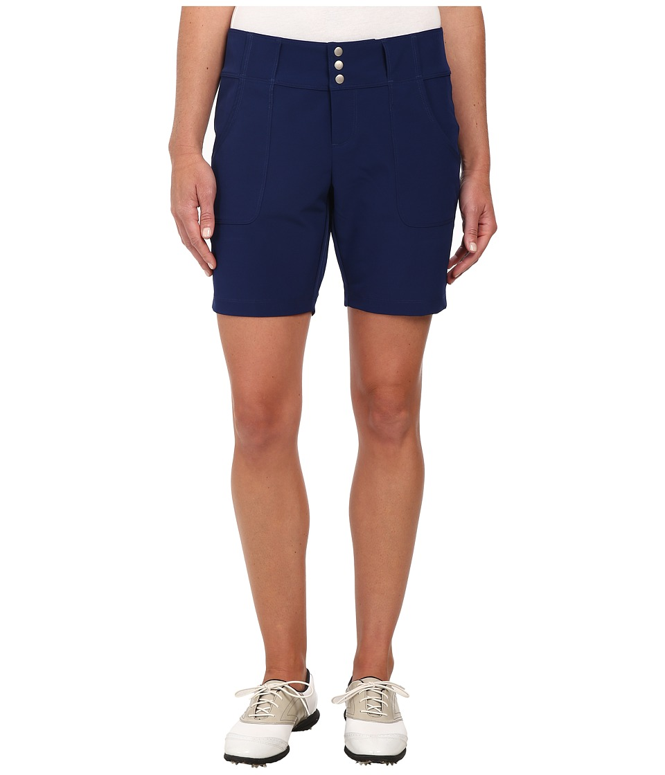 Jofit - Belted Golf Short (Blue Depth) Women's Shorts