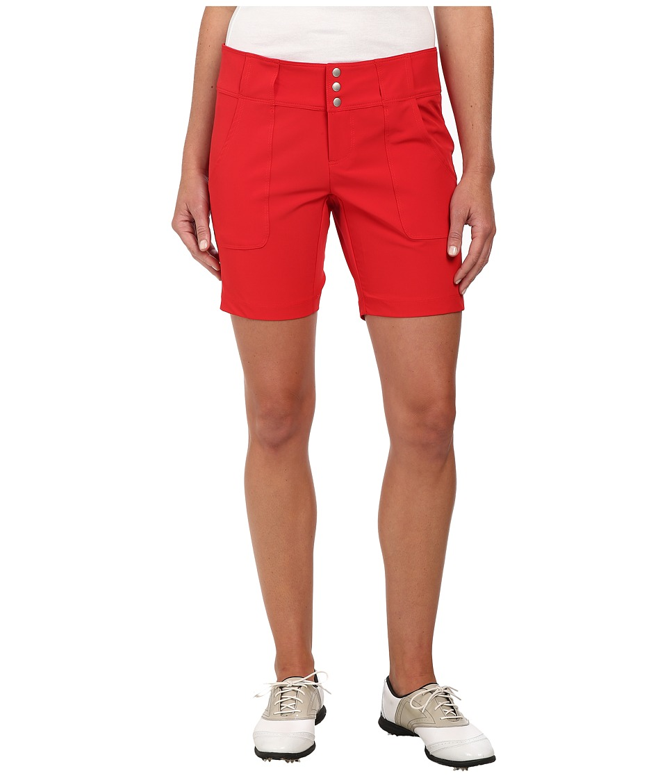 Jofit - Belted Golf Short (Lipstick) Women's Shorts