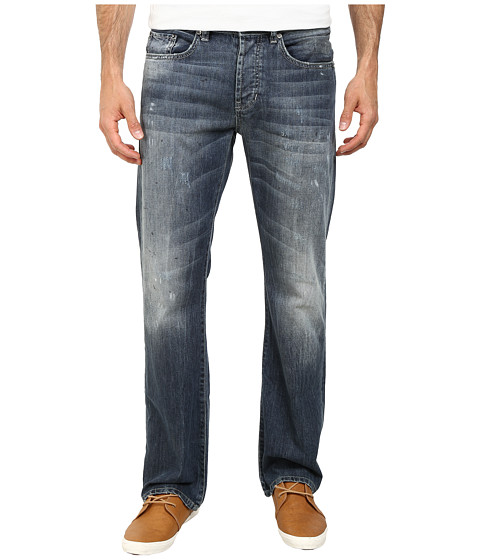 Buffalo David Bitton - King Pioneer Silicate in Damaged Repaired Painted (Damaged Repaired & Painted) Men's Jeans