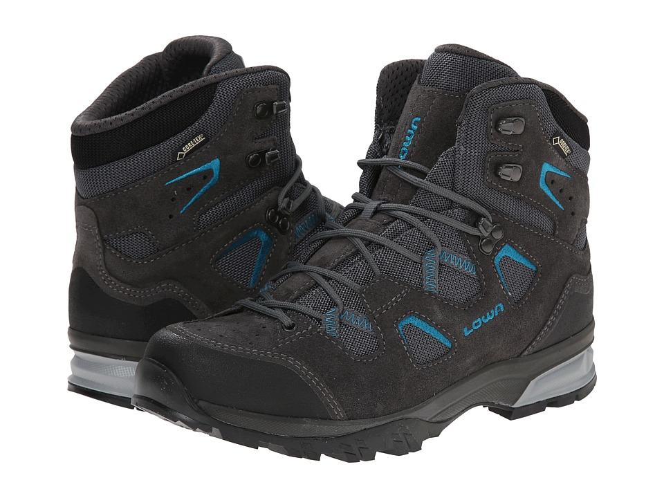 Lowa - Phoenix GTX Mid (Anthracite/Blue) Women's Shoes