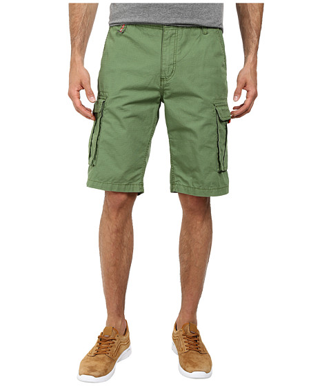 Buffalo David Bitton - Hamburger Ripstop Cargo Short (Trail Combo) Men