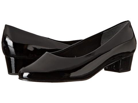 Fitzwell - Ellen (Black Patent) Women's 1-2 inch heel Shoes