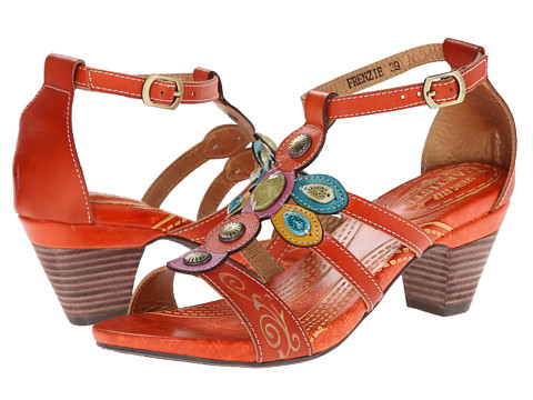 Spring Step - Frenzie (Orange) Women