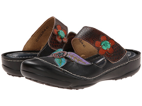 Spring Step - Gladiolus (Navy) Women