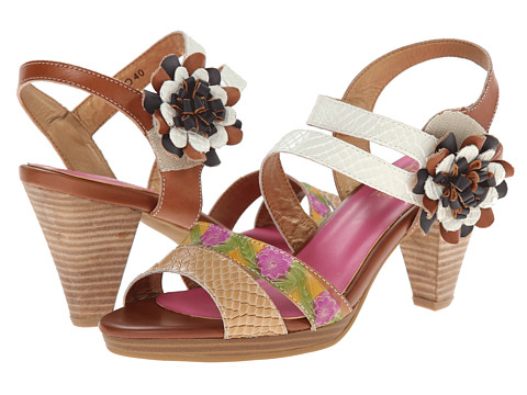 Spring Step - Plato (Camel) Women's Sandals