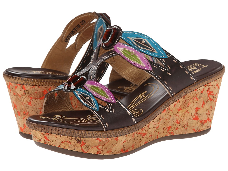 Spring Step - Queenston (Brown) Women's Sandals