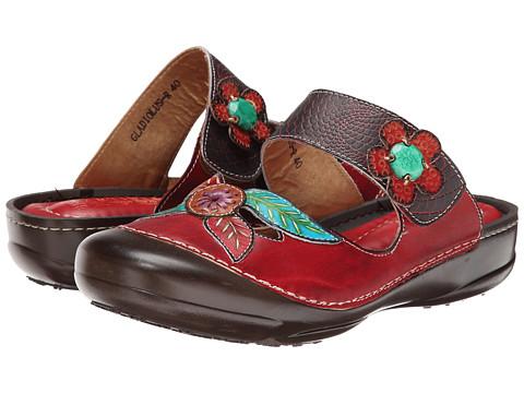 Spring Step - Gladiolus (Red) Women's Sandals
