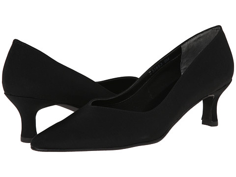 Fitzwell - Convert (Black Micro) Women's 1-2 inch heel Shoes