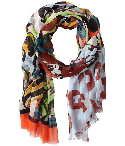 Vivienne Westwood - Butterfly Scarf (Green) Scarves