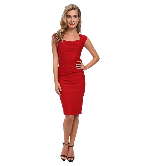 Stop Staring! - Sexy Bow Back Dress (Red) Women's Dress